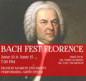Bach Fest Florence set for June 13 and 15
