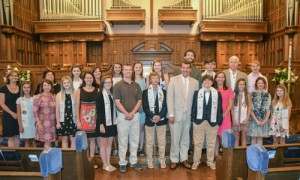 Confirmation Sunday at Central UMC