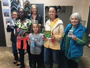 Miniature Art Show, Competition winners
