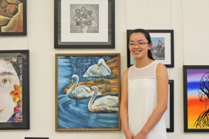 Young artist's work selected to represent SC