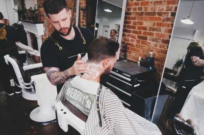 Barber forges path, creates natural products