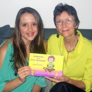 Young author shows consequences of revenge thru her children's book