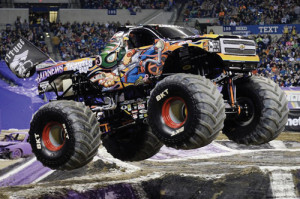 'Big' dreams become a reality  'Bad News Travels Fast' driver living it up behind wheel of Monster Jam truck
