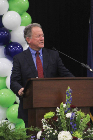 Former South Carolina governor and current executive director of the Nobel Prize-winning World Food Program, David Beasley said that hunger is the greatest issue facing our world.