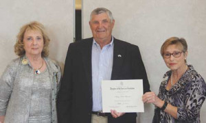 Local DAR chapter honors Brunson  for continued community servic
