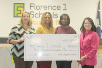 Duke Energy Foundation donates  funds for school supplies