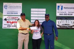 Golf tourney sees beautiful weather, hole in one