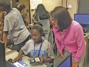 Duke Energy supports GSSM's STEM Camp