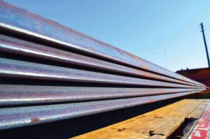 FDTC welding students receive 25,000 pounds of steel from NUCOR