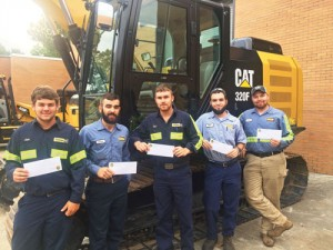 Carolina Caterpillar dealers award 10 students scholarships