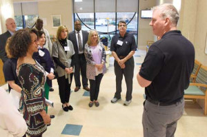 McLeod Health Fellows  tour emergency department