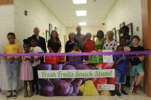Help 4 Kids partnership bears school fruit stands