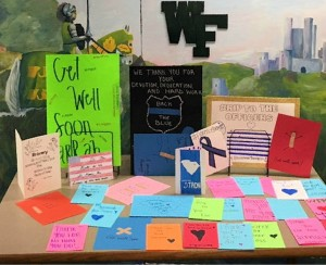 High School LEO Club supports officers and families