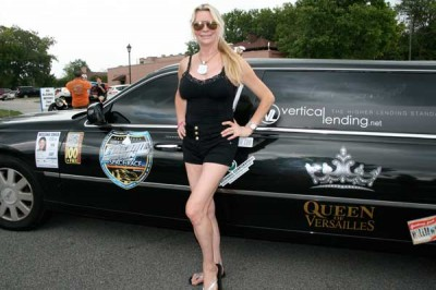 Queen of Versailles comes to Florence with Fireball Run Space Race