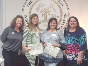 The King's Academy staff members attend S.C. Independent School Association coding workshop