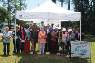GROUNDBREAKING  Greater Florence Habitat set to build 45th home