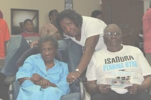 Isadora Perkins-Byrd celebrates 110th birthday  surrounded by six generations of family