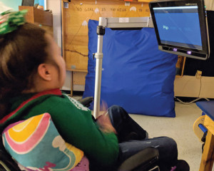Eye-tracking device gives  student world of possibilities