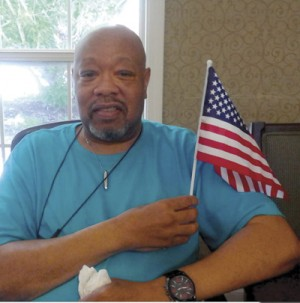 Pee Dee Gardens residents celebrate Flag Day