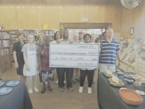 Junior Sorosis Club of Lake City presented a donation