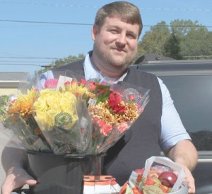 Donation to Sheriff's Department