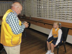 Lions team up with local vision center to prevent sight loss