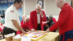 Marines celebrate birthday
