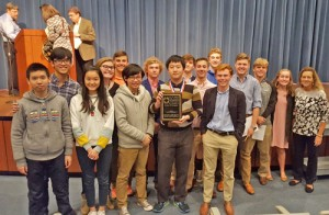 Trinity-Byrnes math team takes first