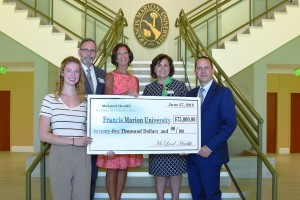 McLeod Health Partners in Nursing Education Program contributes to FDTC and FMU