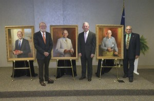 McLeod Health unveils three portraits