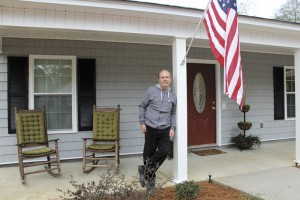 Mike Mouzon becomes homeowner