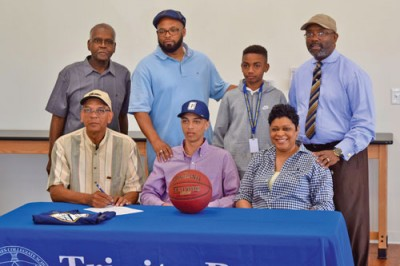 Trinity-Byrnes senior signs with Coker College