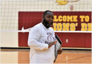 Moore Middle School Head Football Coach Lamonte Curry.