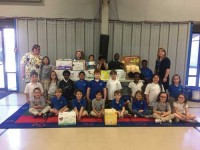 Second graders at Virtus Academy host baby supply drive  for A Choice to Make