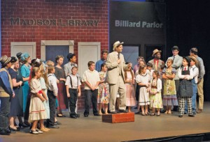Final weekend for 'Music Man Jr.'