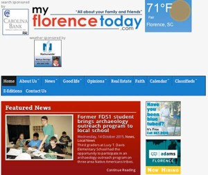myflorencetoday.com  redesigned with new look