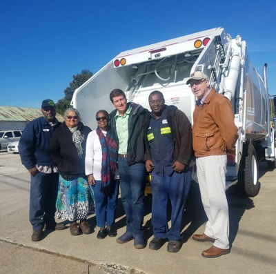 Darlington gets new trash truck