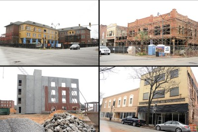 Downtown construction, renovations set for 2016