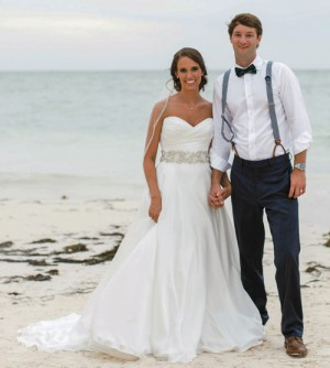 Payne-Poole nuptials  take place in Punta Cana