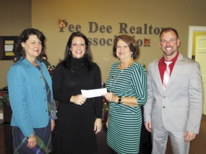 Habitat For Humanity accepts grant from Pee Dee Realtor Association