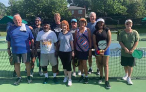 Pickleball club makes impact off the court