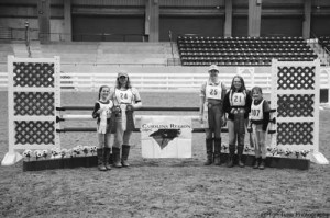 Pony Club competes in Show Jumping and Tetrathlon Rallies