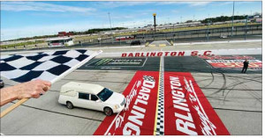 Last Lap: 'Mr. Raceway' takes a  final trip around track  he loved so dearly