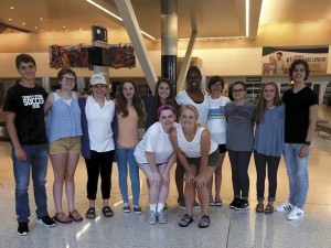 Trinity-Byrnes latin students attend national convention