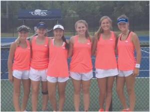 Aces second in  USTA tourney
