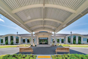 The new Veterans Village nursing home facility in Florence will accommodate up to 104 veterans.