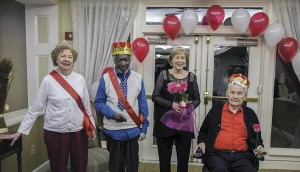 Brookdale celebrates Valentine's Day with Valentine's Banquet