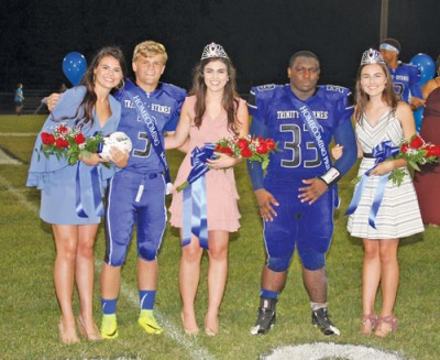 Trinity-Byrnes celebrates homecoming with a win