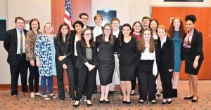 Wilson Mock Trial team wins regionals, places fifth in state competition